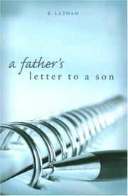A Father's Letter to a Son PDF