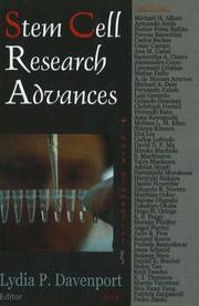 Stem Cell Research Advances PDF