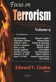 Focus on Terrorism by Edward V. Linden
