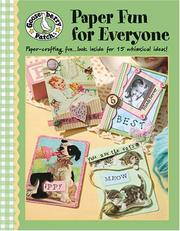 Gooseberry Patch Paper Fun for Everyone (Leisure Arts #4351) PDF