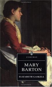 Cover of: Mary Barton (Everyman Paperback Classics) by Elizabeth Cleghorn Gaskell