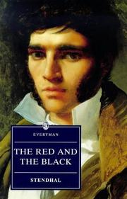 The Red and the Black (Le rouge et le noir) by Stendhal