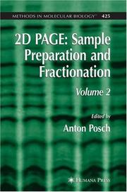 2D PAGE: Sample Preparation and Fractionation PDF