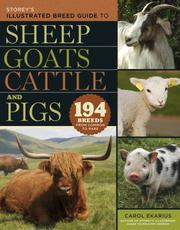 Storey's Illustrated Breed Guide to Sheep, Goats, Cattle and Pigs PDF