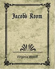 Cover of: Jacob's Room by Virginia Woolf