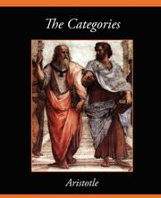 Cover of: The Categories by Aristotle