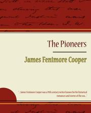 Cover of: The Pioneers by James Fenimore Cooper