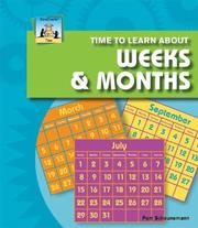 Time to Learn About Weeks & Months (Time) PDF