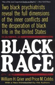 Black rage by William H. Grier