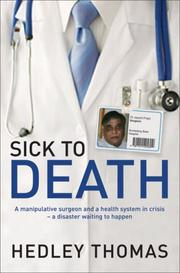 Sick to Death PDF
