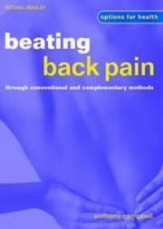 Beating Back Pain Through Conventional and Complementary Methods (Options for Health) PDF