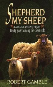 Shepherd My Sheep PDF