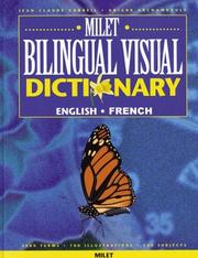 Milet Bilingual Visual Dictionary by Jean-Claude Corbeil