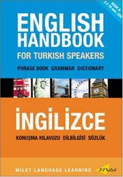 English Handbook for Turkish Speakers by B. Orhan Dogan
