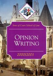Opinion Writing (Inns of Court Bar Manuals) PDF