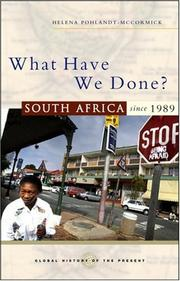 What Have We Done? PDF