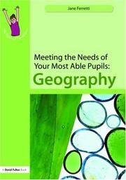 Meeting the Needs of Your Most Able Pupils in Geography (The Gifted and Talented Series) PDF