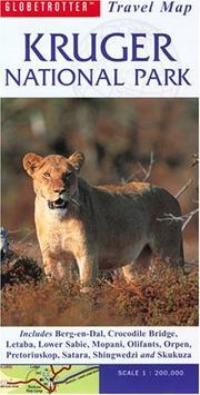 Kruger National Park Travel Map PDF
