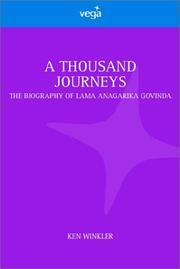 Thousand Journeys by Ken Winkler