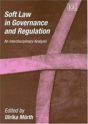 Soft Law In Governance And Regulation PDF