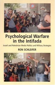 Psychological Warfare in the Intifada by Ron Schleifer
