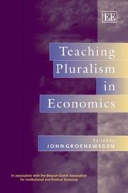 Teaching Pluralism in Economics PDF