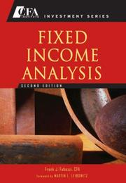 Fixed Income Analysis PDF