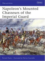 Napoleon's Mounted Chasseurs of the Imperial Guard PDF