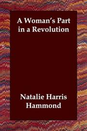 A Woman's Part in a Revolution PDF