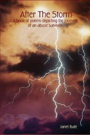 After The Storm - A book of poems depicting the journey of an abuse survivor PDF