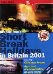 Recommended Short Break Holidays in Britain (Farm Holiday Guides) PDF