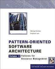 Pattern-Oriented Software Architecture Volume 3