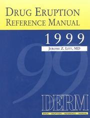 Drug Eruption Reference Manual 1999