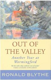 Out of the Valley by Ronald Blythe