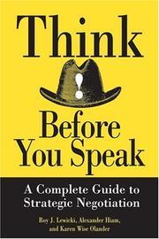 Think before you speak PDF