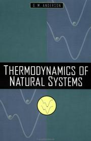 Thermodynamics of natural systems PDF