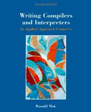 Writing compilers and interpreters by Ronald Mak