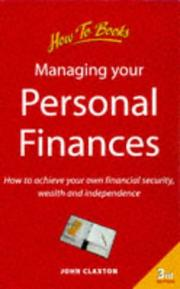 Managing your personal finances PDF