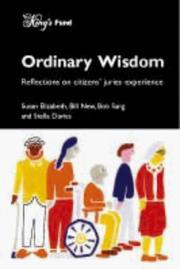 Ordinary Wisdom PDF