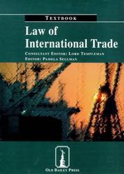 Law of International Trade PDF