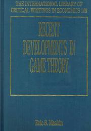 Recent Developments in Game Theory (International Library of Critical Writings in Economics) PDF