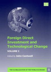Foreign direct investment and technological change