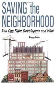 Saving the Neighborhood by Peggy Robin