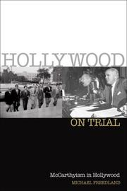Hollywood on trial by Michael Freedland