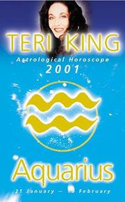Teri King Astrological Horoscope 2001 by Teri King