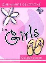 One Minute Devotions for Girls (One-Minute Devotions) PDF