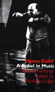 A rebel in music by Hanns Eisler