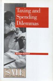 Taxing and Spending Dilemmas (Social Market Foundation Paper) PDF