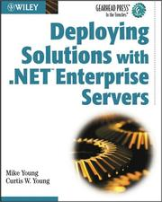 Deploying solutions with .NET enterprise servers PDF