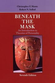 Beneath the mask by Christopher F. Monte